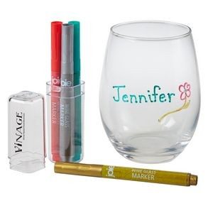 JOIE Wine Marker Set