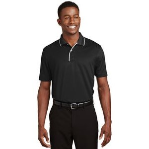 Sport-Tek® Dri-Mesh® Polo Shirt w/Tipped Collar & Piping