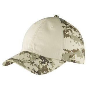 Port Authority® Colorblock Digital Ripstop Camouflage Cap
