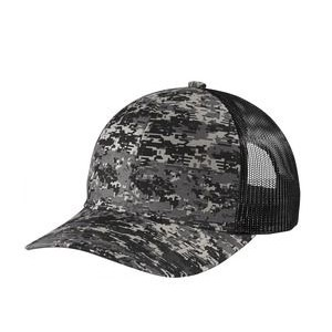 Port Authority® Digi Camo Snapback Trucker Cap