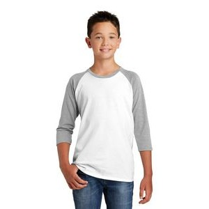 District® Youth Boy's Very Important Tee® 3/4-Sleeve Raglan Shirt