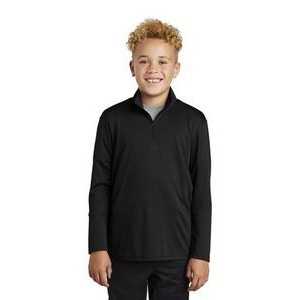 Sport-Tek® Youth PosiCharge® Competitor™ 1/4-Zip Pullover Sweatshirt
