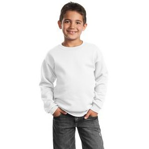 Port & Company® Youth Core Fleece Crewneck Sweatshirt