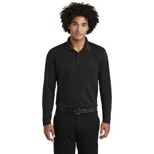 Sport-Tek® PosiCharge® RacerMesh® Long Sleeve Polo