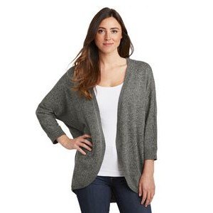 Port Authority® Ladies' Marled Cocoon Sweater