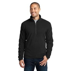 Port Authority® Men's Microfleece 1/2-Zip Pullover Sweater