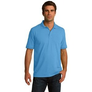 Port & Company® Men's Core Blend Jersey Knit Polo Shirt