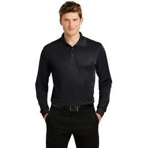 Sport-Tek® Micropique Sport-Wick® Long Sleeve Polo Shirt