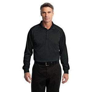 CornerStone® Select Snag-Proof Long Sleeve Tactical Polo Shirt