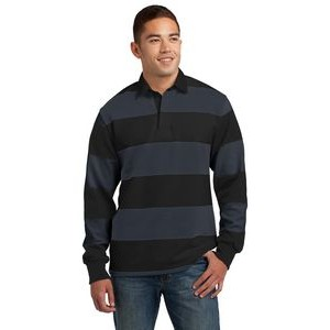 Sport-Tek® Men's Classic Long Sleeve Rugby Polo