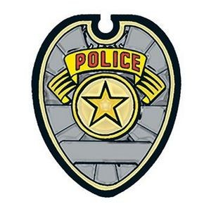 Police Badge Temporary Tattoo