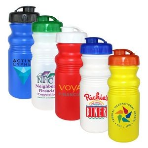20 Oz. Cycle Bottle with Flip Top Lid, Full Color Digital
