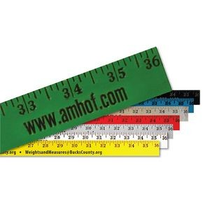 Enamel Finish Yardstick