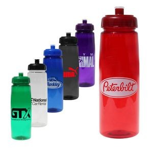 30 Oz. Poly-Saver PET Bottle with Push n' Pull Cap