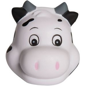 Cute Cow Head Squeezies® Stress Reliever
