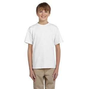 Hanes Printables Youth 5.2 oz., 50/50 Ecosmart® T-Shirt