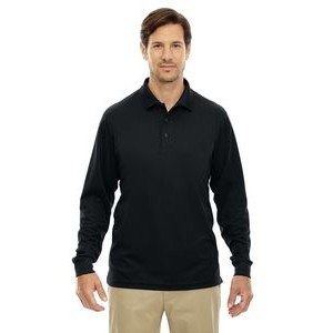 CORE 365 Men's Tall Pinnacle Performance Long-Sleeve Piqué Polo