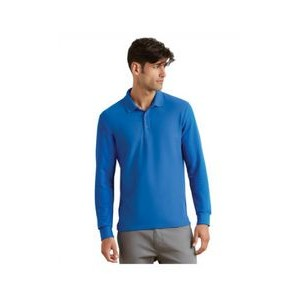 Gildan Adult 6 oz. Double Piqué Long-Sleeve Polo