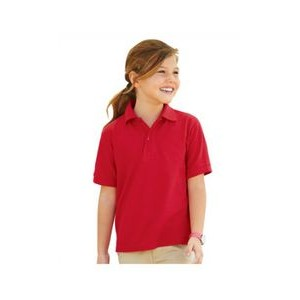 Jerzees Youth 5.3 oz. Easy Care? Polo