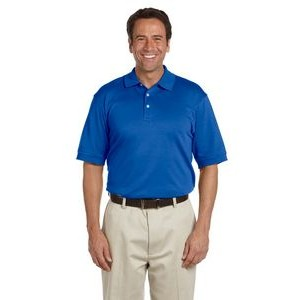 Devon and Jones Men's Solid Perfect Pima Interlock Polo