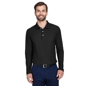 Devon and Jones Men's DRYTEC20? Performance Long-Sleeve Polo
