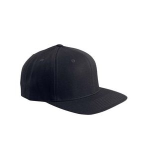 Yupoong Adult 6-Panel Structured Flat Visor Classic Snapback