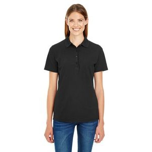 Hanes Printables Ladies' 6.5 oz. X-Temp® Piqué Short-Sleeve Polo with Fresh IQ