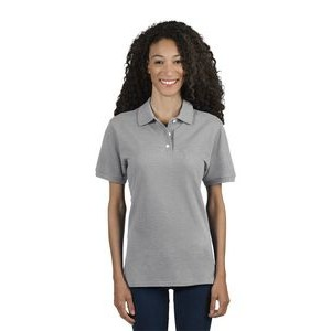 Jerzees Ladies' 6.5 oz. Premium 100% Ringspun Cotton Piqué Polo