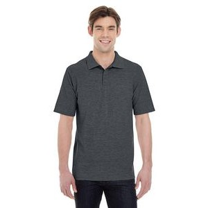 Hanes Printables Men's 6.5 oz. X-Temp® Piqué Short-Sleeve Polo with Fresh IQ