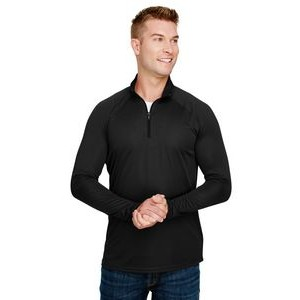 A-4 Adult Daily Polyester 1/4 Zip