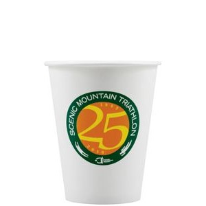 8 oz Paper Cup - White - Tradition