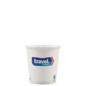 4 oz Eco-Friendly Paper Cup - White - Digital