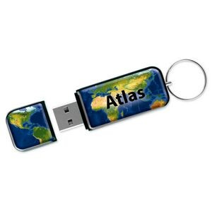 View Max™ Flash Drive VM w/ VibraColor® Dome (512 MB)