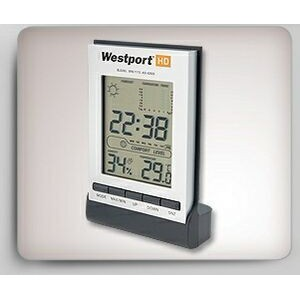 LCD Clock w/ Weather Station