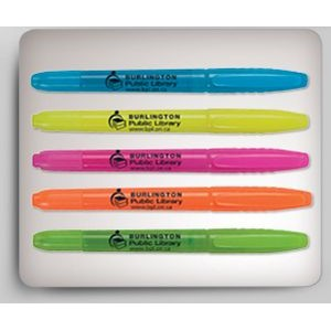 Davos Fluorescent 2-in-1 Plastic Highlighter