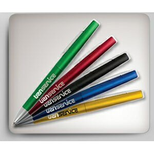 Victoria Colored Plastic Twist Pen