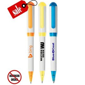 Closeout USA Made Elegant Colored Twist Promo Pen - No Minimum