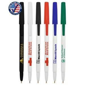 Certified USA Made, Twist-Action Ballpoint Pen