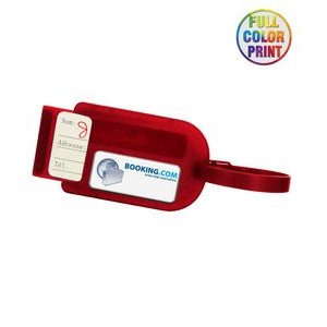 "Full Color ""Slide In"" Luggage Tag"