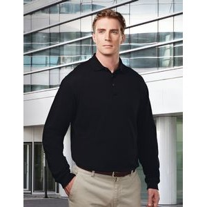 Tri-Mountain® Workwear Men's Vanguard Long Sleeve Polo Shirt