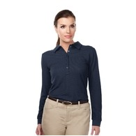 Women's Tri-Mountain Performance® Stamina Long Sleeve Performance Polo