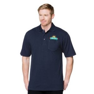 Tri-Mountain® Assembly Pocket Polyester Blend Polo Shirt