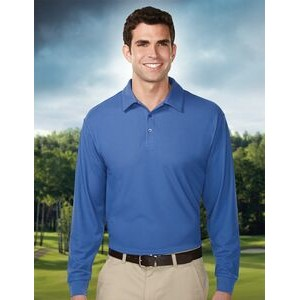 Men's Tri-Mountain Performance® Endurance Long Sleeve Performance Polo