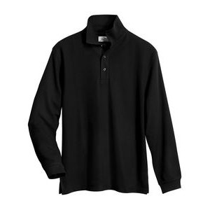 Tri-Mountain® Workwear Men's Enterprise Long Sleeve Cook Shirt
