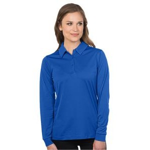 Women's Tri-Mountain Performance® Lady Stalwart Long Sleeve Polo