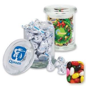 Gourmet Glass Jar Filled w/ Assorted Jelly Beans
