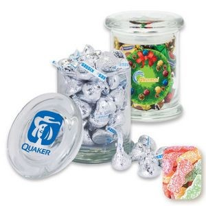 Air Tight Gourmet Glass Jar Filled w/ Sour Patch Kids