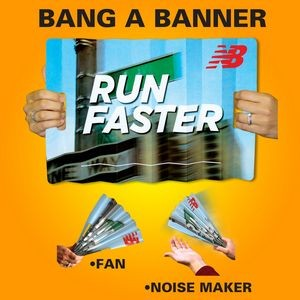 "Offset Printed Bang A Banner (11""x18"")"
