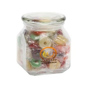 Life Savers® in Med Glass Jar