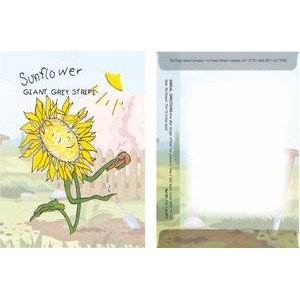 Dorothy's Kids Series Sunflower Seeds/ Cartoon Character Packet- Digital Print- Back Imprint